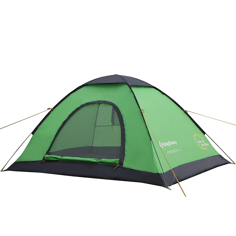 KingC& MODENA 2-Person / 3-Person Light Instant Pop-Up Single Layer  sc 1 st  Amazon.com & Amazon.com : Coleman Oasis 8-Person Dome Tent (Blue) : Sports ...
