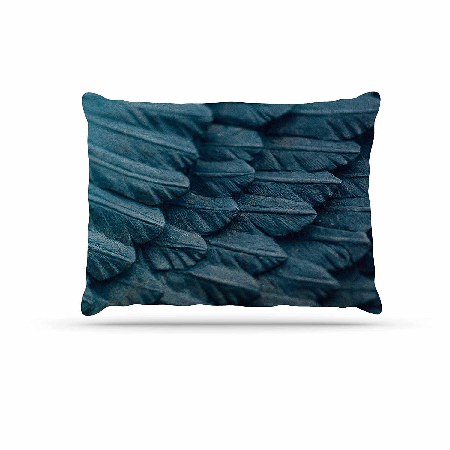 KESS InHouse Ann Barnes Ombre Angel bluee Celestial Dog Bed, 50  x 40