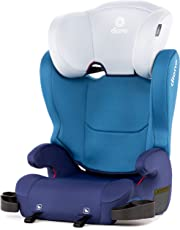 Diono Cambria Booster - 2-In-1 Car Seat - High Back and Backless Booster - Forward-Facing 40-120 Pounds - 6-Position Adjustable Headrest - Roomy Comfort for Your Big Kid - Blue
