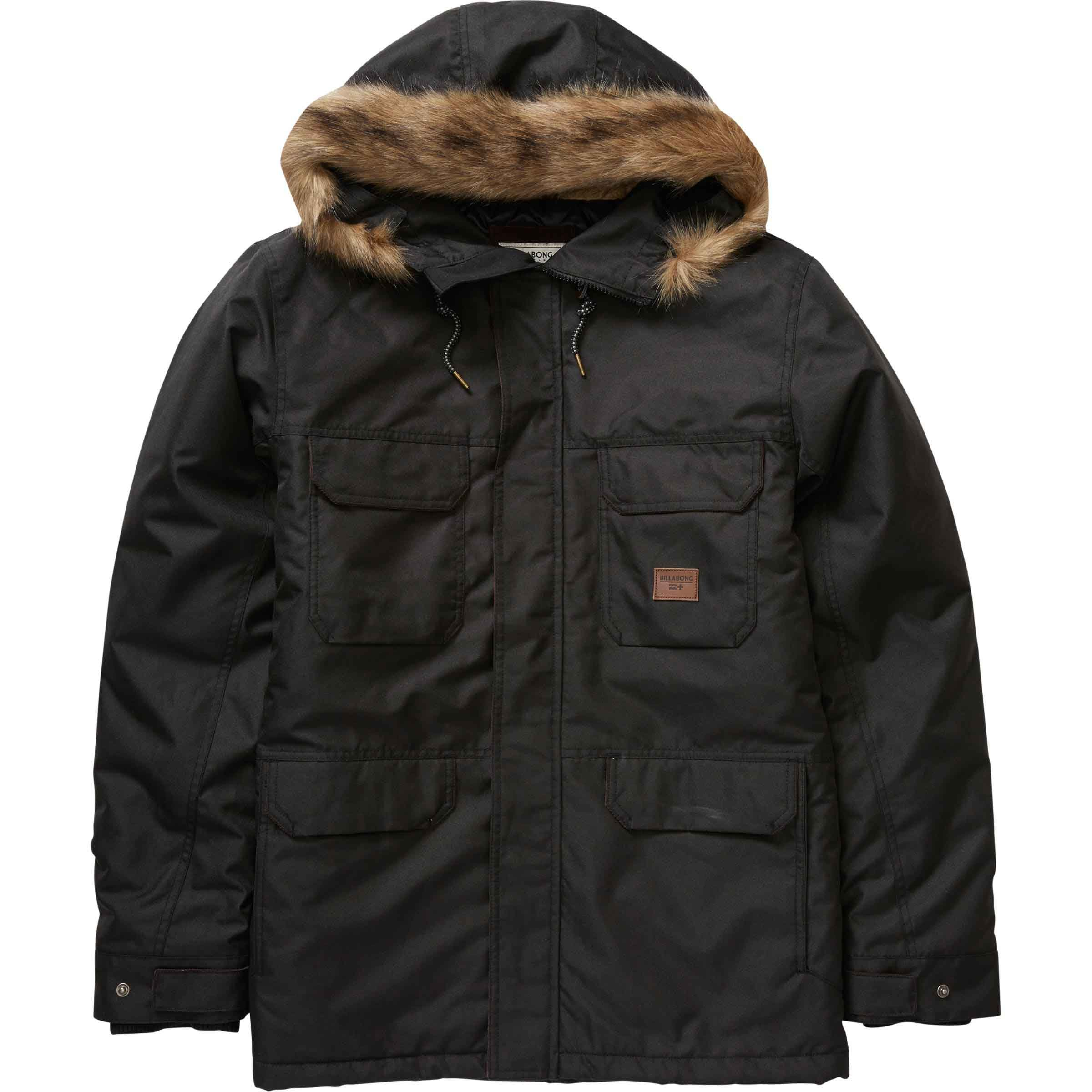 Billabong Men's Olca Jacket, Black, Medium