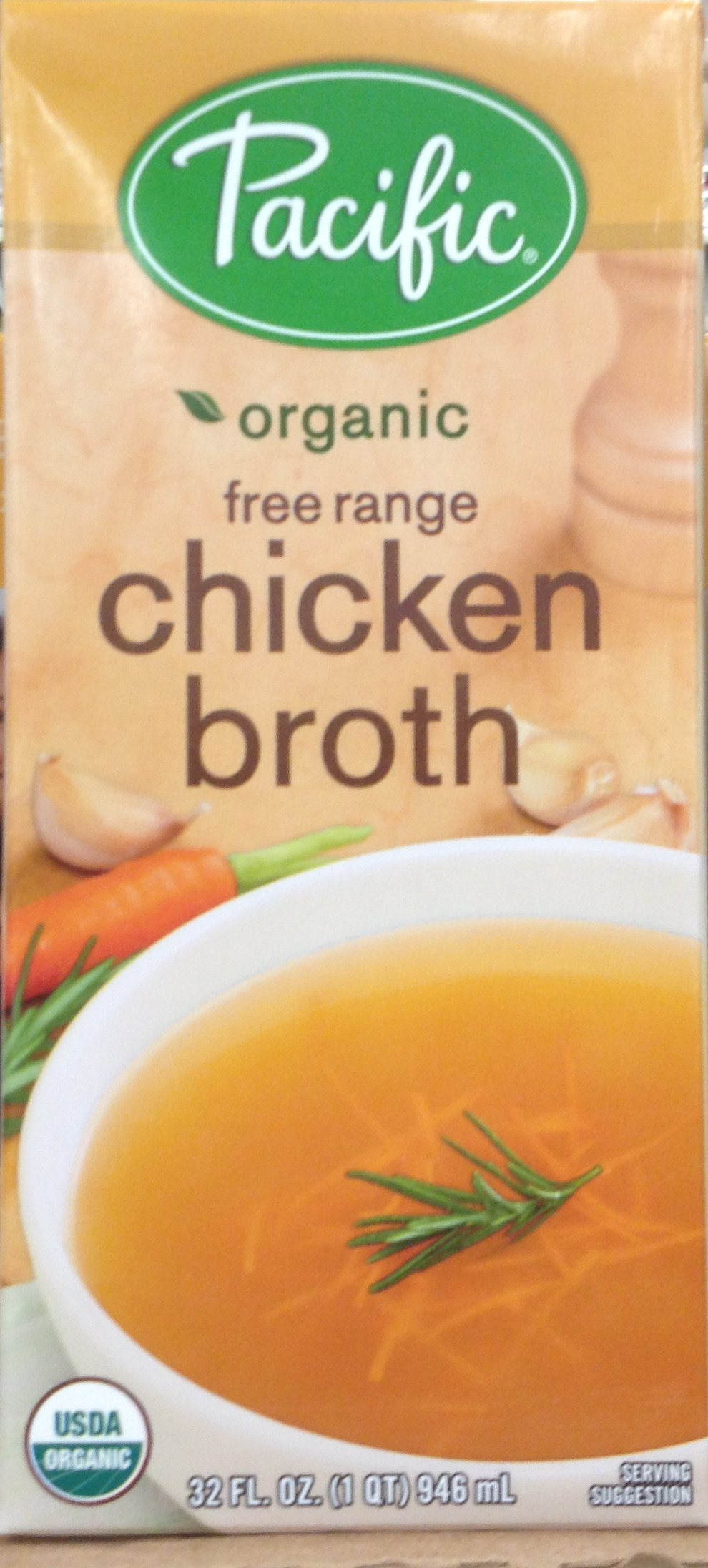 Pacific Foods Broth Chkn Frange Org Gf