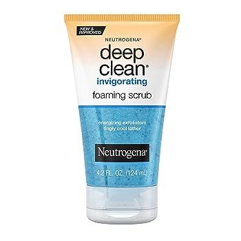 Neutrogena Deep Clean Invigorating Foaming Face Scrub