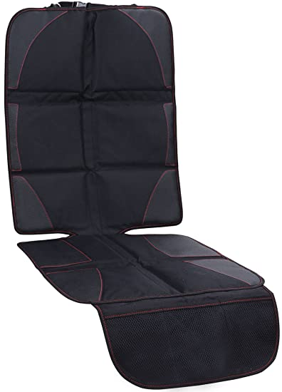 Amazon.com: AMC Baby Car Seat Cover Protector Mat with Storage ...