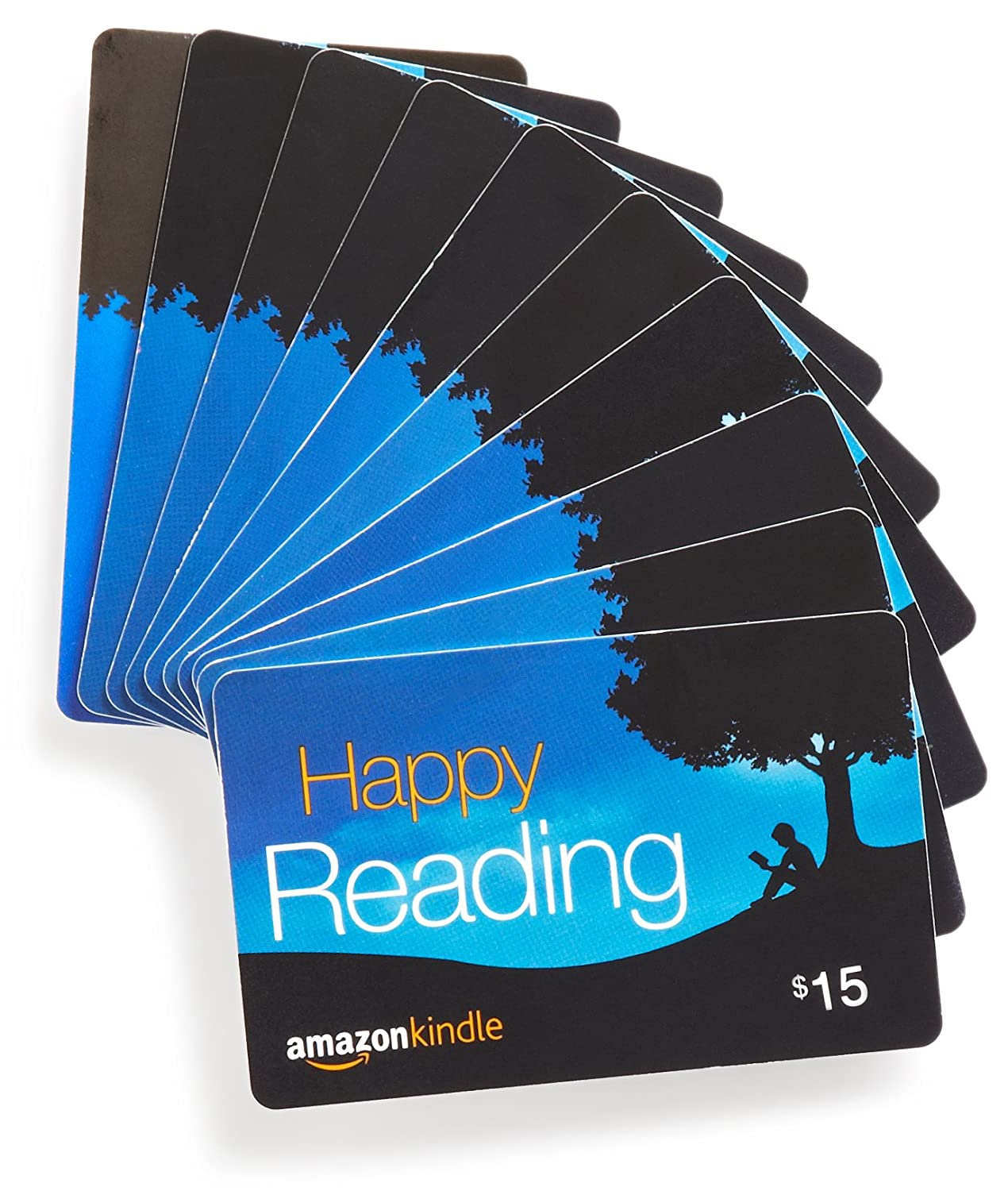 .com Gift Cards, Pack of 10 (Various Card Designs)