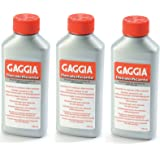 Gaggia Decalcifier Descaler Solution 250ml (3 pack)