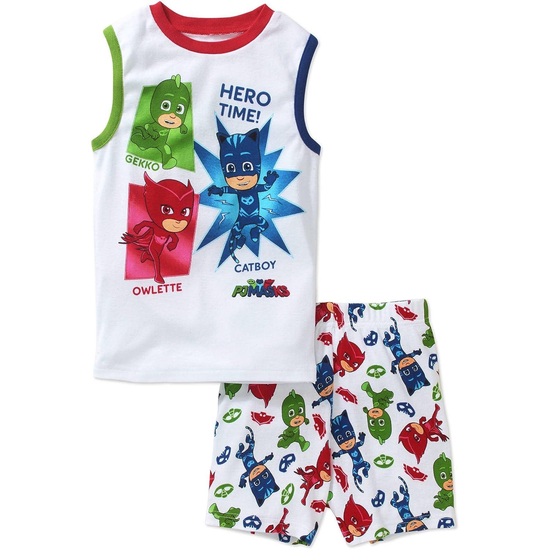 PJ Masks Boys Shorts Pajamas 4-10