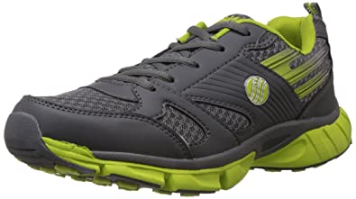 cd7b5d874302 Image Unavailable. Image not available for. Colour  Action Shoes Men s Grey  and Green Running ...