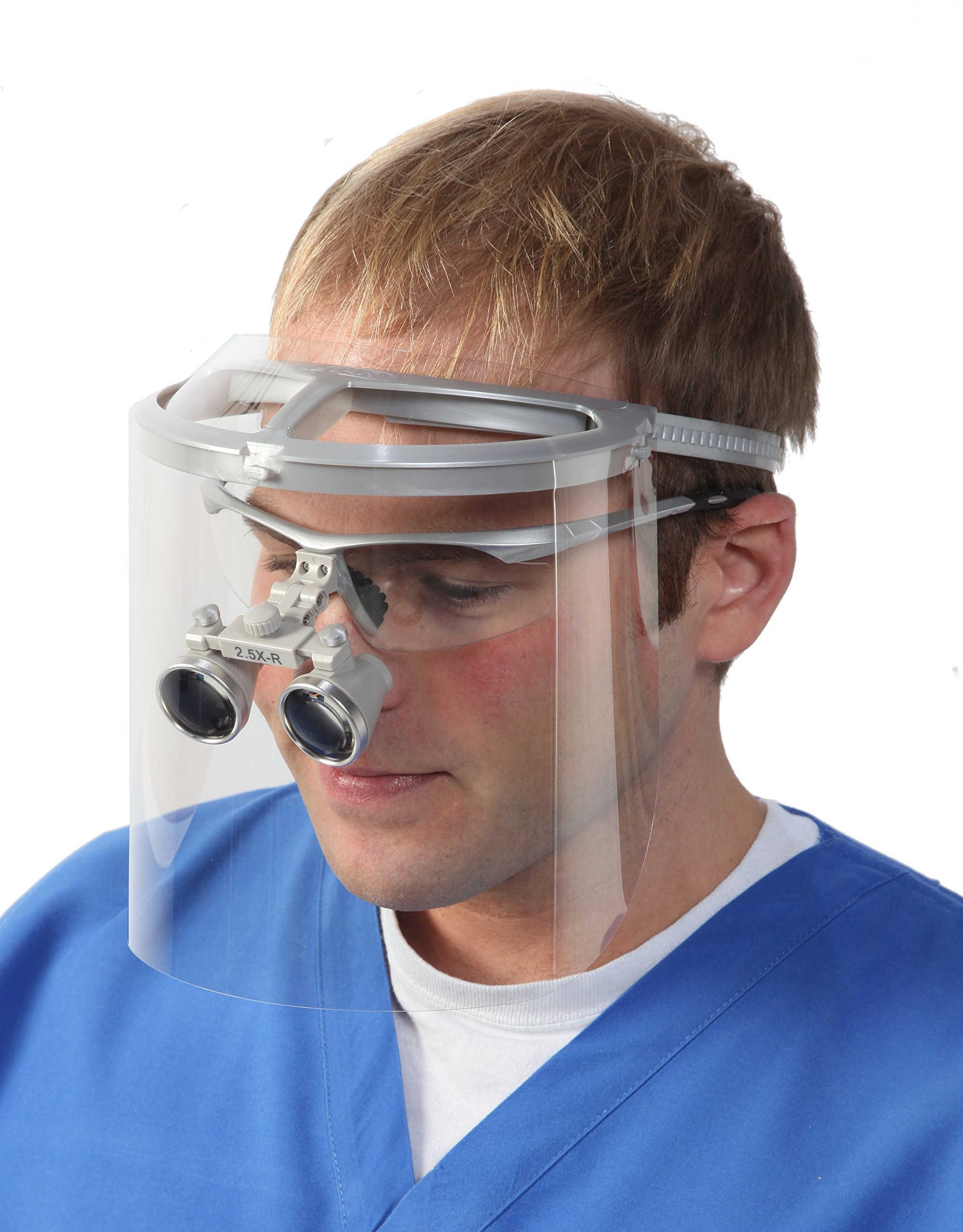 Bio-Mask Face Shield With 10 Shields (Silver)