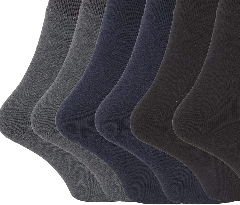 lot de 6 paires Chaussettes thermiques 1.9 tog FLOSO - Homme