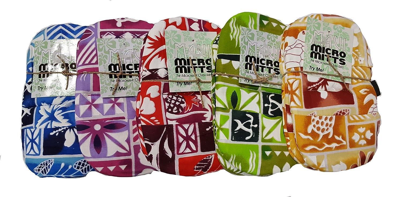 Akamai Set of 2 Maui Micro Mitts Microwave Potholder Mitten