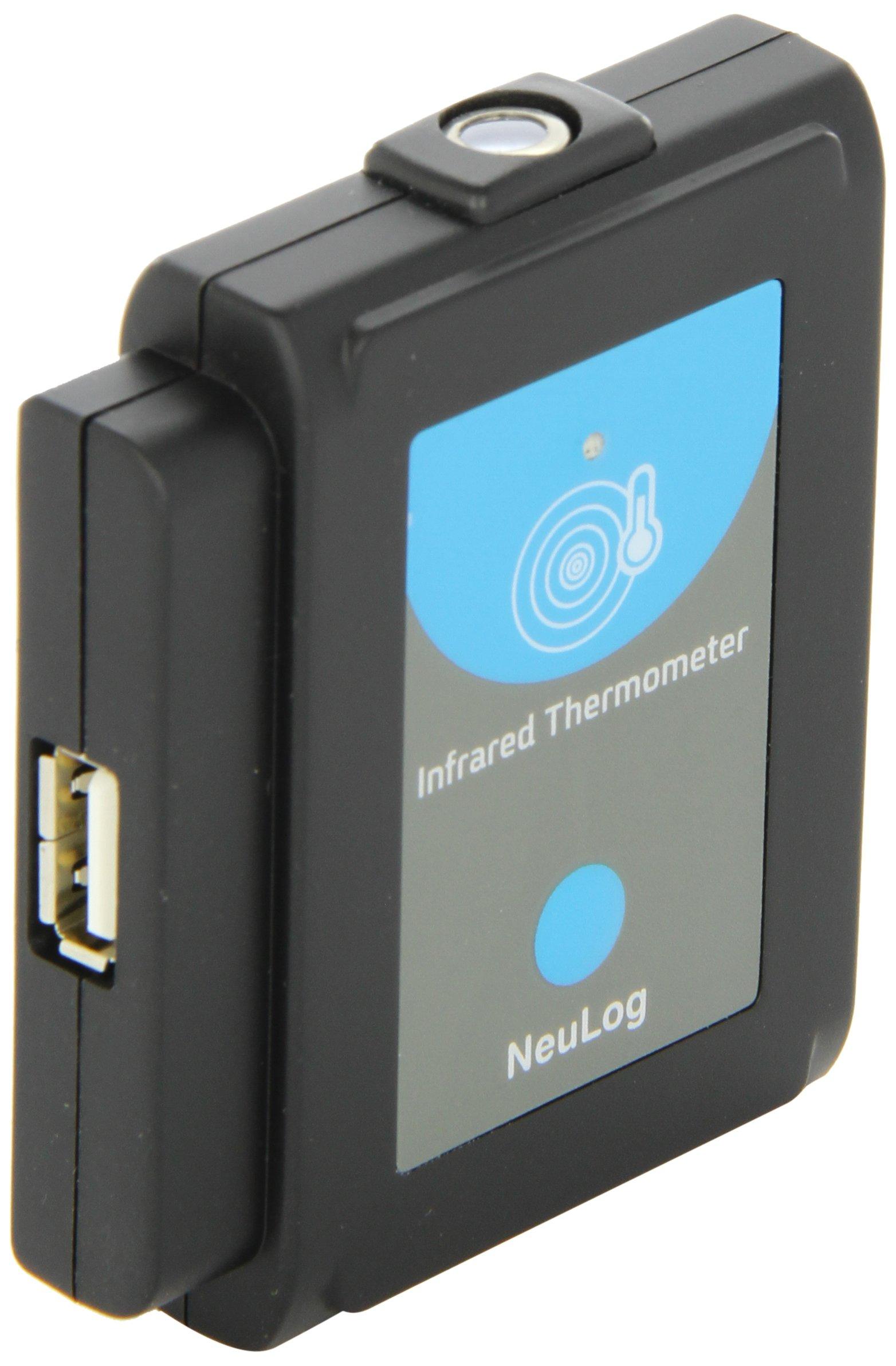NEULOG Infrared Thermometer Logger Sensor, 13 bit ADC Resolution, 100 S/sec Maximum Sample Rate