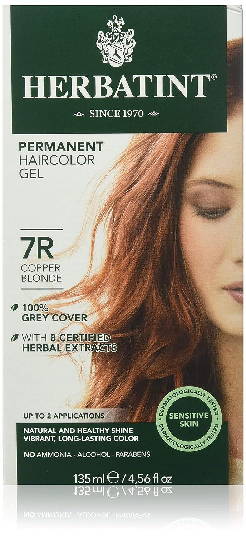Herbatint Permanent Herbal Haircolor Gel Copper Chestnut UNFI - Select Nutrition HT00118