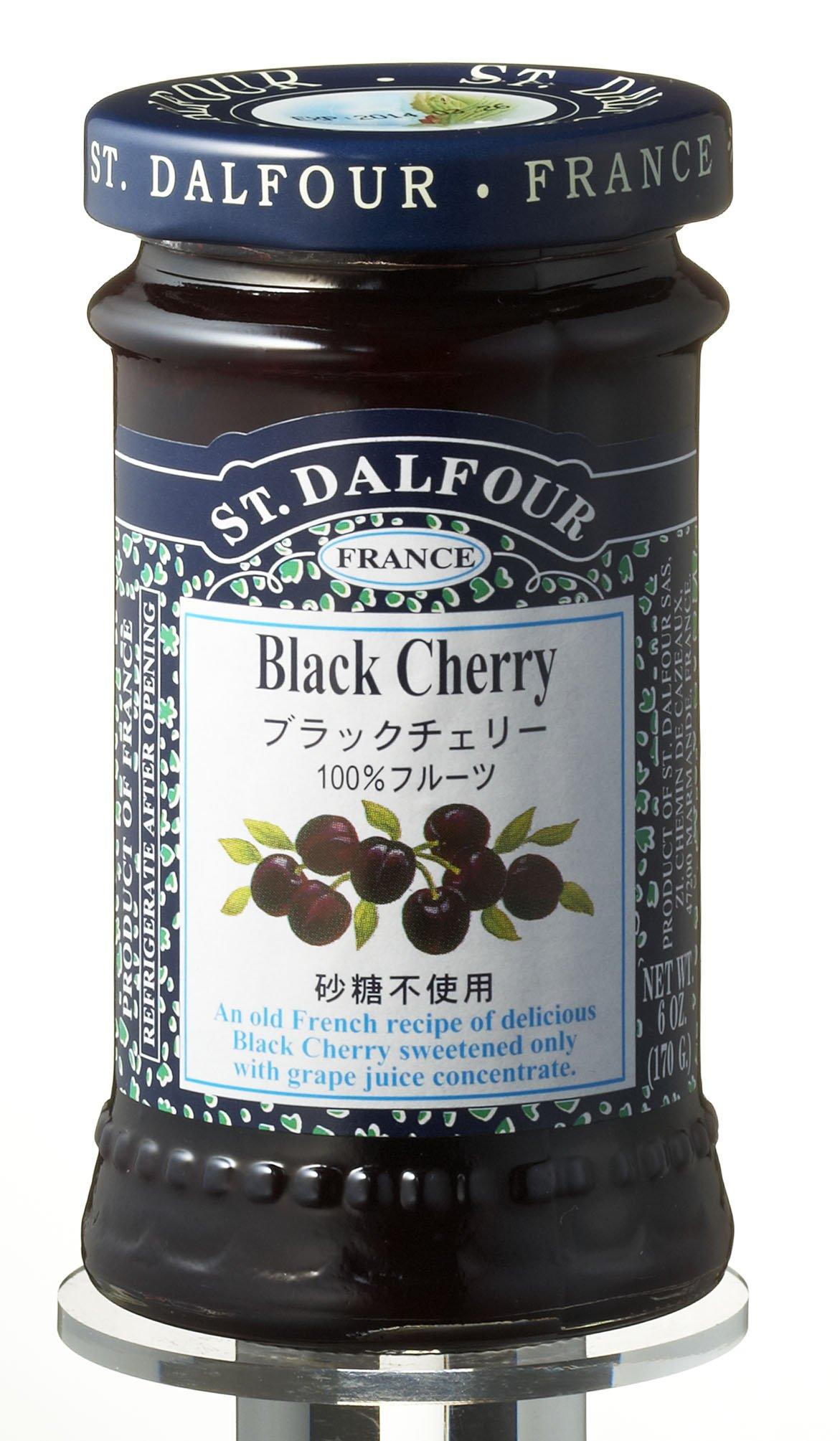 170gX6 this San Darufo All fruit spread Black Cherry