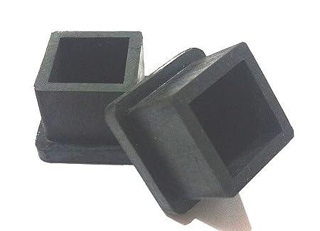 Square Rubber Cap (Size - 20 x 20mm)