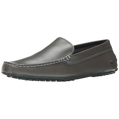 Lacoste Men's Bonand 2, Gray, 10 M US | Loafers & Slip-Ons
