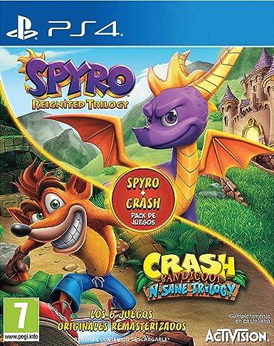Spyro Reignited Trilogy + Crash N. Sane Bundle: Amazon.es: Videojuegos