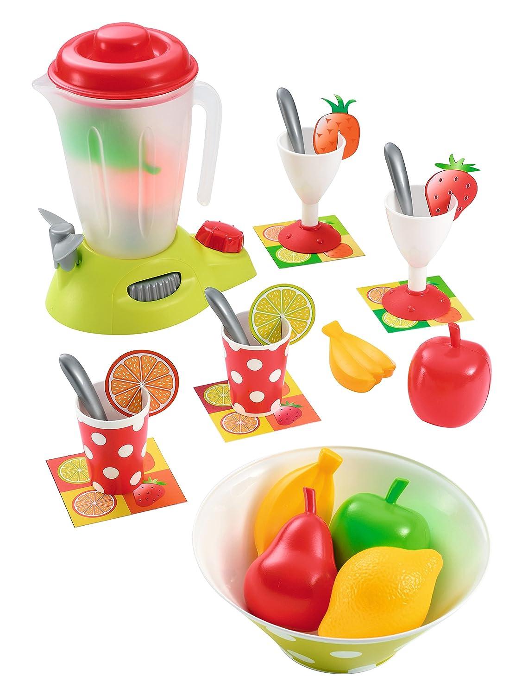 Ecoiffier Saftmixer mit Zubehör - Spielzeug Mixer