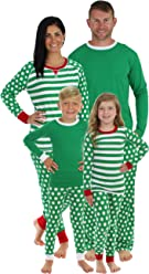 Sleepyheads Green Dot Family Matching Pajama Set