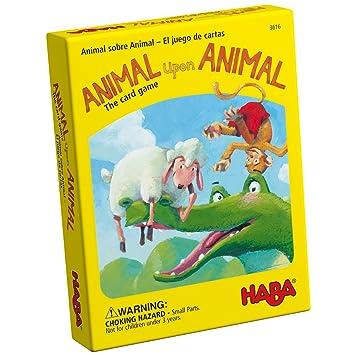 Animal S Animal Juego de Cartas: Amazon.es: Juguetes y juegos