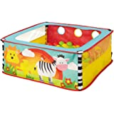 Worlds Apart 168ZBA Zebra Square Animal Toddler Sensory Ball Pit