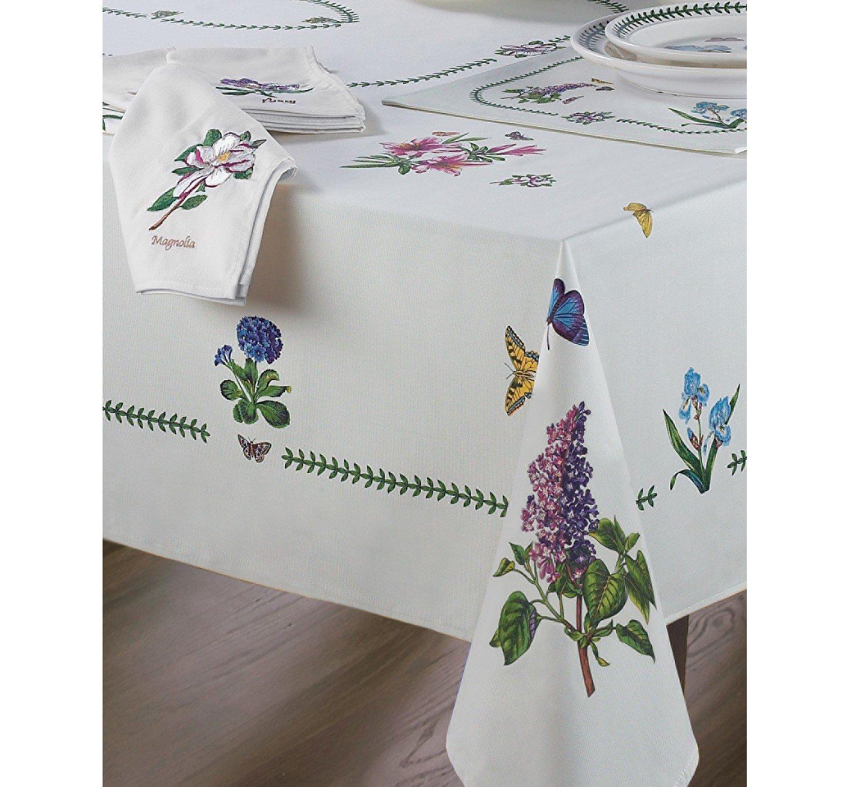 Amazon.com: Avanti Linens Botanic Garden 60X84 Table Cloth, Ivory: Home U0026  Kitchen