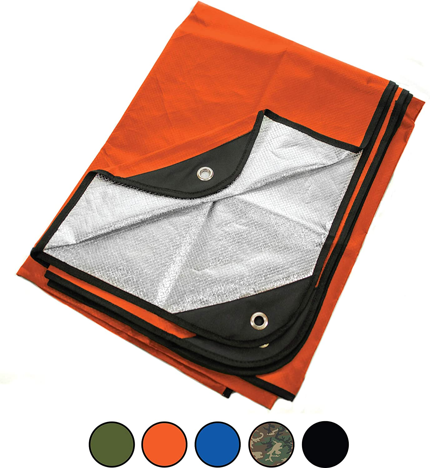 Arcturus All Weather Outdoor Survival Blanket All Purpose,Thermal,Reflective,Emergency
