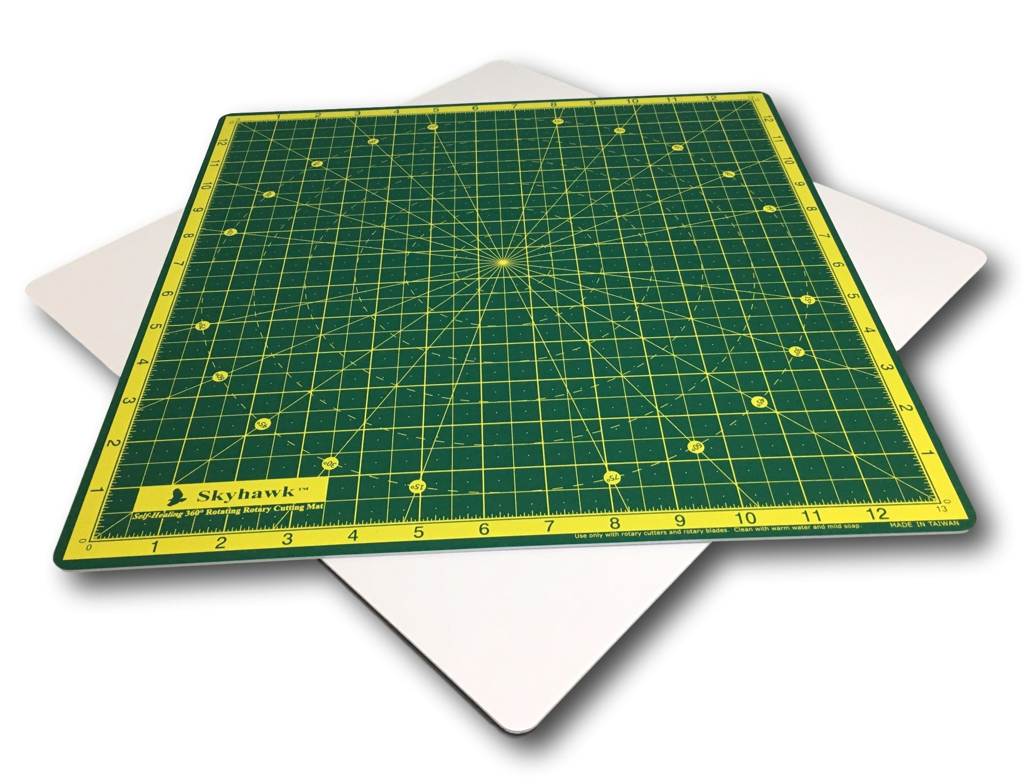 Skyhawk Self-Healing 14-Inch-by-14-Inch 360° Rotating Cutting Mat
