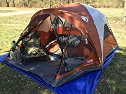 Amazon Com Coleman 4 Person Evanston Tent With Screened