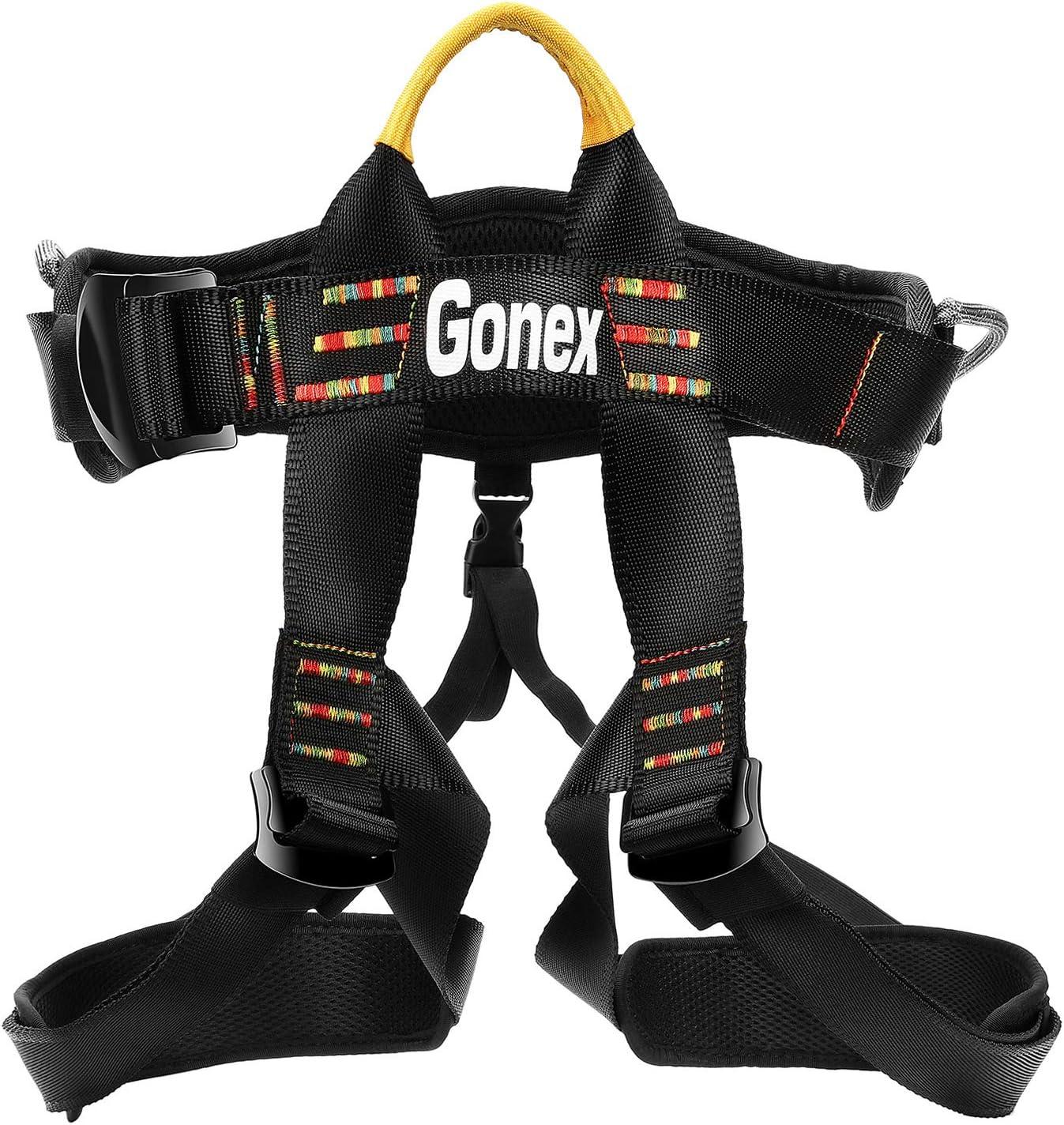 Gonex Arnés de Escalada en Roca Cinturones de Seguridad para ...