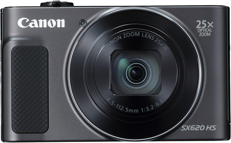 Canon Powershot Sx620 Hs Digital Camera Black Kamera