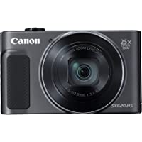 Canon PowerShot SX620 HS Digital Camera - Black
