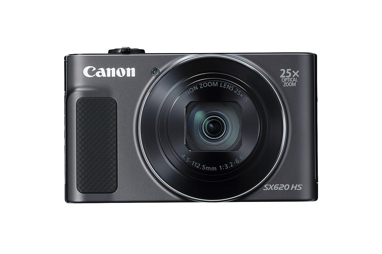 Canon PowerShot SX620 HS Digital Camera - Black
