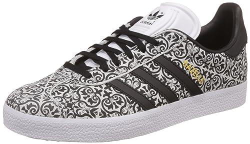 bbffe0f020a adidas Originals Women s Gazelle W Cblack Cblack Ftwwht Sneakers - 4 UK  India