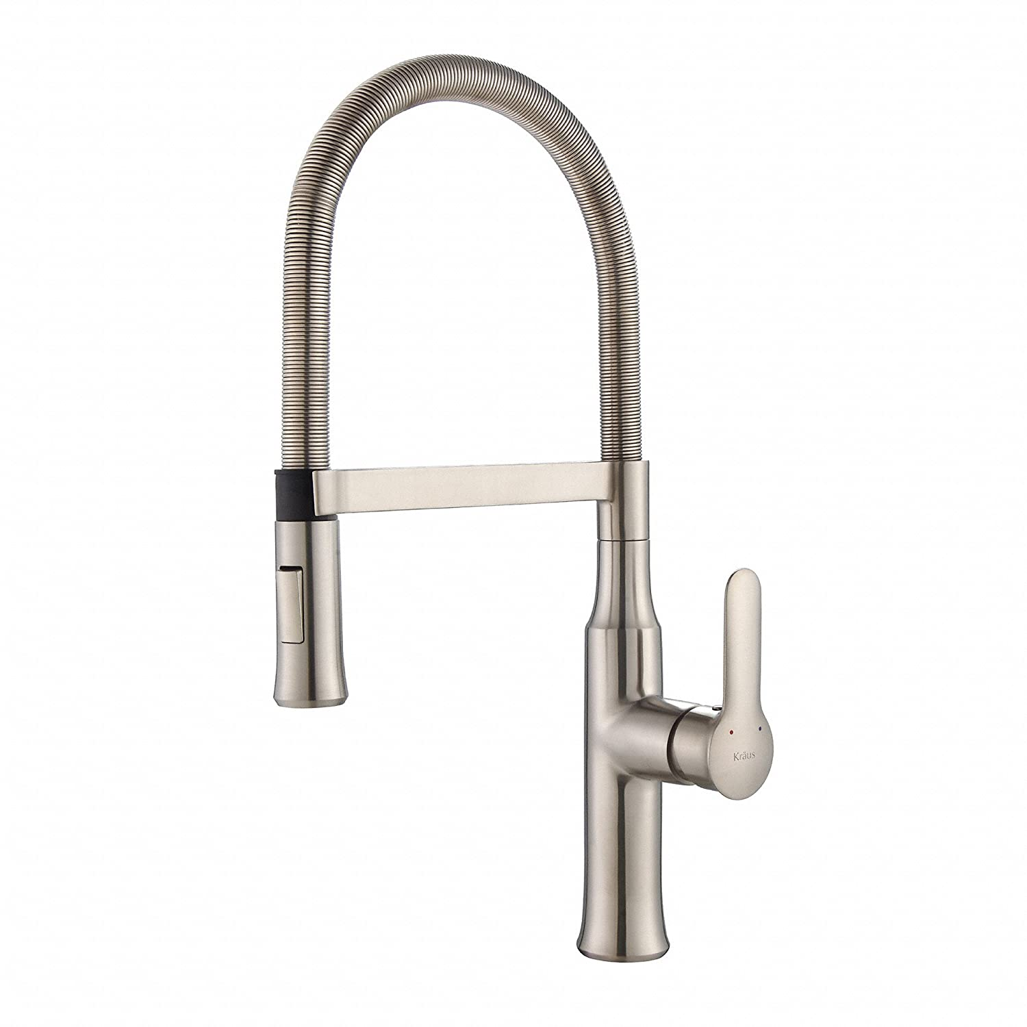 features stainless lead out imperial design faucet kitchen pull single hole faucets ariel free bar steel
