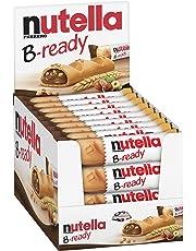 36 NUTELLA B-READY CIALDA DI PANE FARCITA CON NUTELLA SNACK 22 GR BOX ESPOSITORE