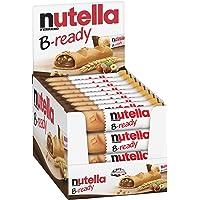Nutella B-Ready Galletas, crujiente oblea Shell rellenas