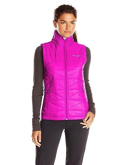 adb54b1de1c Amazon.com  Columbia Women s Mighty Lite III Vest  Clothing