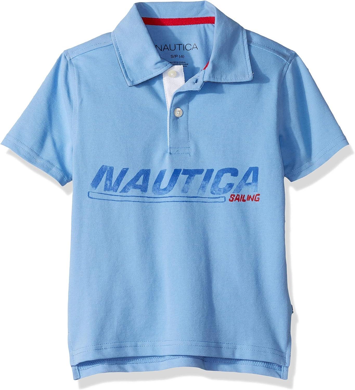 Nautica Niños Manga Corta Camisa Polo: Amazon.es: Ropa y accesorios