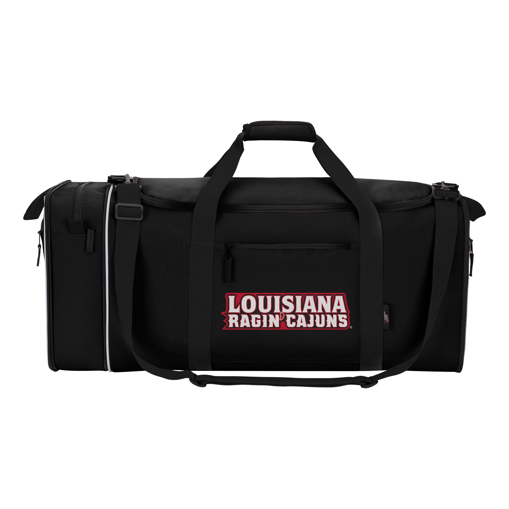 NCAA Unisex Steal Duffel Louisiana@Lafayettet Black by The Northwest Company (Image #4)