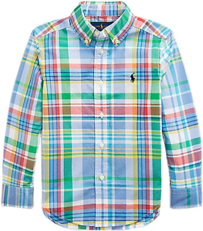 Polo Ralph Lauren - Camisa NIÑO 323785616001 - Camisa NIÑO: Amazon.es: Ropa y accesorios