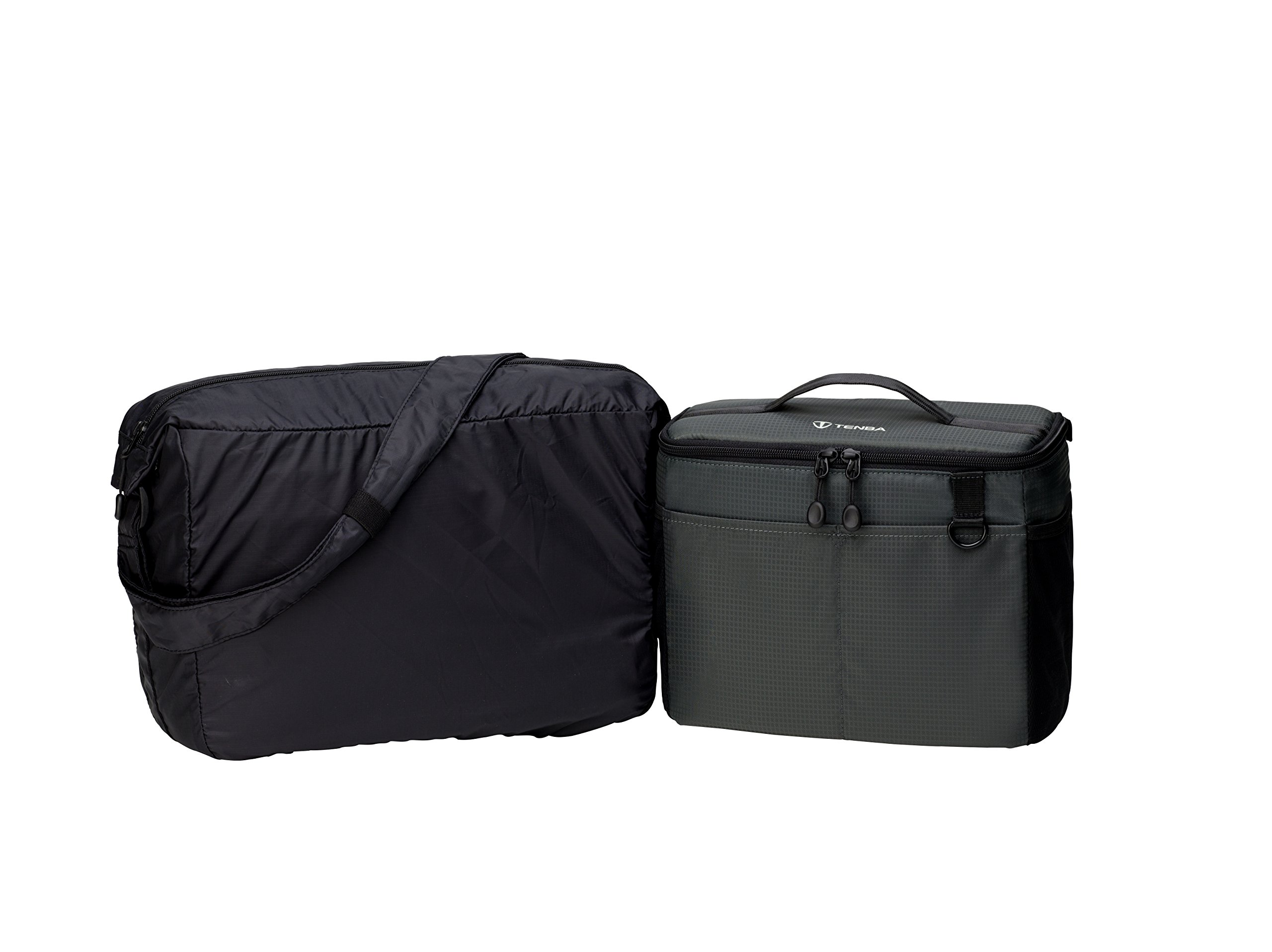 Tenba BYOB/Packlite 10 Flatpack Bundle with Insert and Packlite Bag (636-283) by Tenba