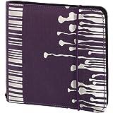 Hama Up to fashion Étui en nylon pour 24 CD/DVD Violet