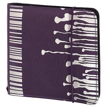 Hama 95667 - Estuche de CD y DVD (Capacidad: 24 Discos), violeta: Amazon.es: Informática
