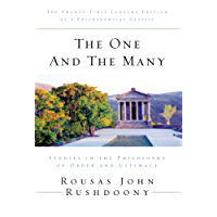 The One and the Many: Studies in the Philosophy of Order and Ultimacy