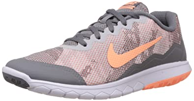 nike women's flex esperienza rn 4 t cool grey sunset glow, pura