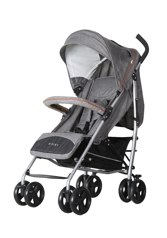 Komplett Faltbar; Liegeposition; Schwenkr/äder; Grau Graphite Sport Buggy Kinderwagen Ezzo ab 6 Monate