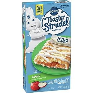 Toaster Strudel, Apple, 11.7 oz (Frozen)