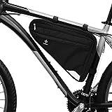 TraFellows Premium-Fahrradtasche für die Stange I Geräumige Rahmen-Tasche für Damen und Herren I Wasserfeste Dreieckstasche mit Reflektor-Aufnehmer