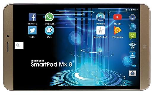 """2 opinioni per Mediacom M-SP8MXA Tablet da 8"""", MT8735B, 1 GB RAM [Layout Italiano]"""