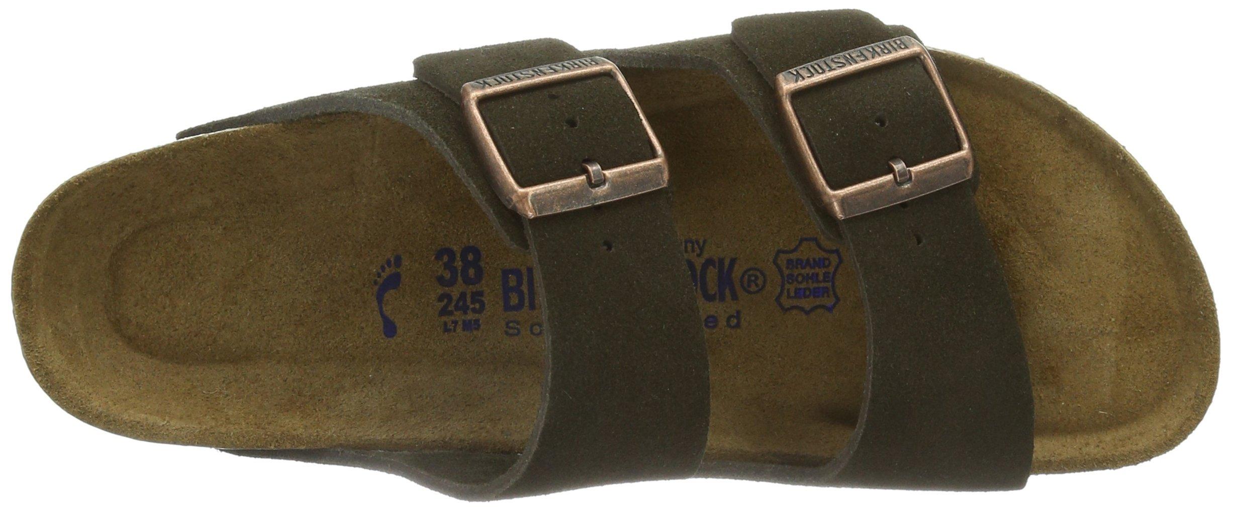 Birkenstock Women´s Arizona Mocha Suede Sandals 37 N EU N 951313 by Birkenstock (Image #7)